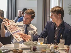 Nik van Hoogstraten ontmoet … Mark Rutte
